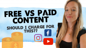 Free vs. Paid Content: Am I Giving Away Too Much??