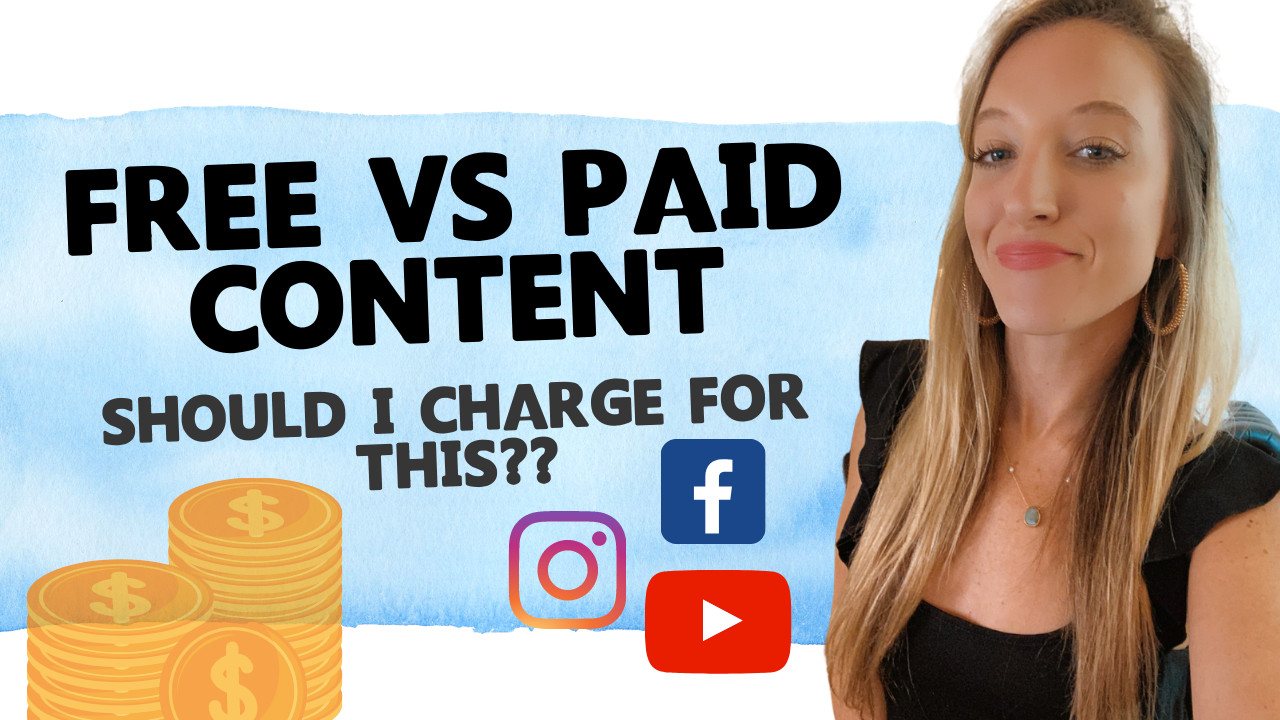 Free vs. Paid Content for Coaches
